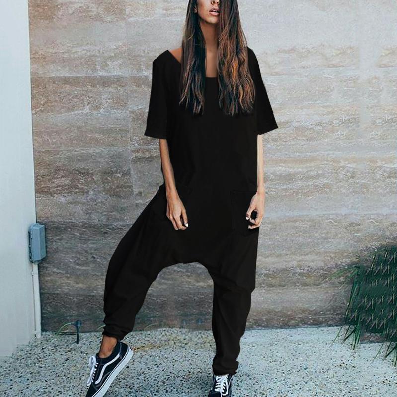 633a14bf51f2 Stylish Casual Loose Short Sleeve Jumpsuits – Mogosic