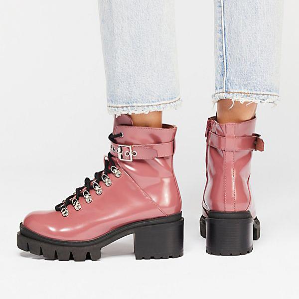 6efe5ee141b3 Fashion Waterproof Middle Height Heel Boots – Julsia